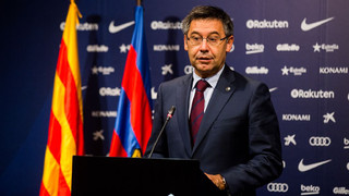 Institutional statement by Josep Maria Bartomeu
