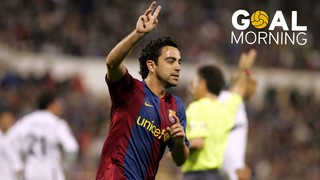 Goal Morning! Xavi, the quality standard