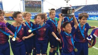 FC Barcelona U12A – Espanyol: Champions of La Liga Promises (1-0)