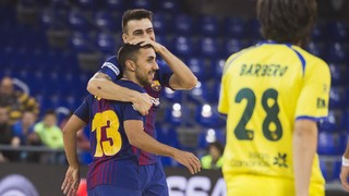 FC Barcelona Lassa 9 - Gran Canaria 2