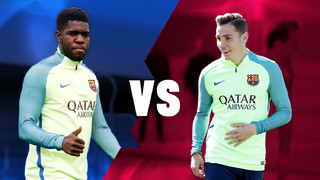 Face to Face: Umtiti vs Digne