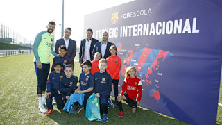 Gerard Piqué, ambassador of the VI #FCBEScola17 International Tournament