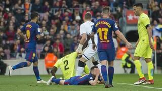 FC Barcelona 0 - Getafe 0 (3 minutes)