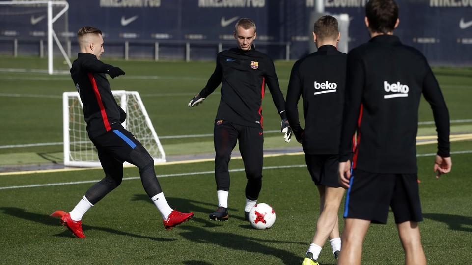 61408624 El Barça vuelve al trabajo sin algunos de sus titulares - Comunio-Biwenger
