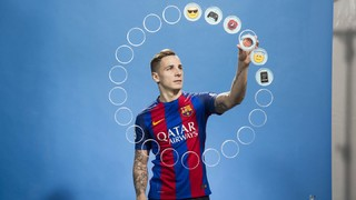 See what Digne thinks of his teammates!