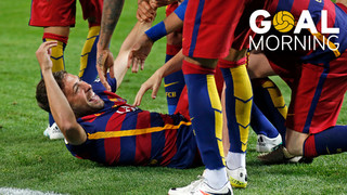 Goal Morning! One day left for the Copa del Rey final...