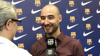 Fran Sánchez, nou entrenador del Barça Femení