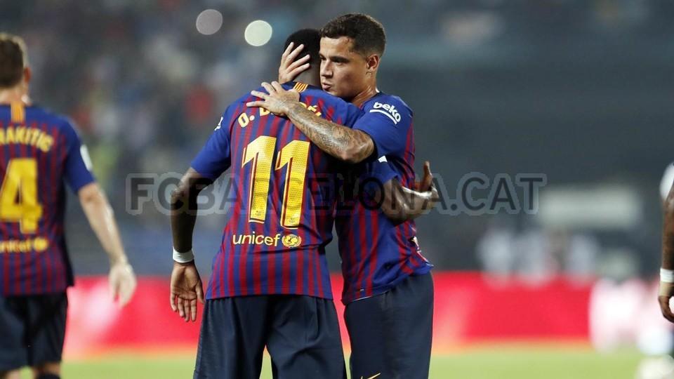 صور مباراة : برشلونة - إشبيلية 2-1 ( 13-08-2018 )  95786097