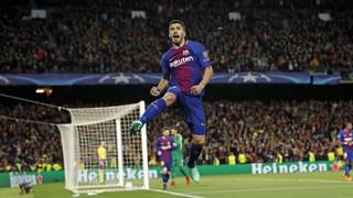 FC Barcelona 4 - Roma 1 (1 minuto)