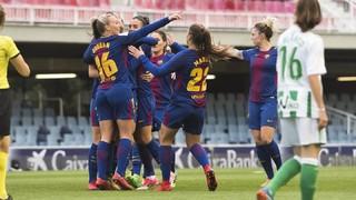 FC Barcelona 6 - Betis 1 (Liga)