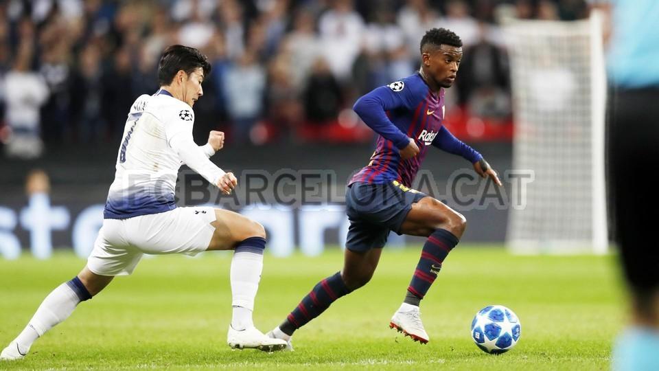 صور مباراة : توتنهام - برشلونة 2-4 ( 03-10-2018 )  100648050