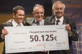 Rotary Club Girona ha recaptat més de 50.000 euros en un concert i sopar benèfic a favor del futur hospital