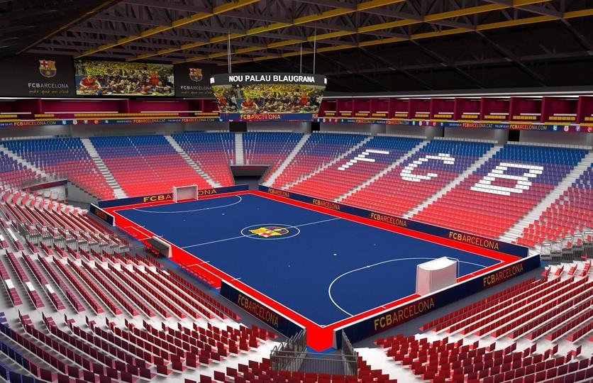 Ten things you need to know about the new palau blaugrana for Puerta 0 palau blaugrana