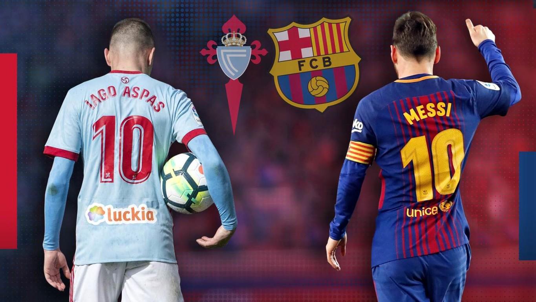 مباراة برشلونة وسيلتا فيغو بث مباشر