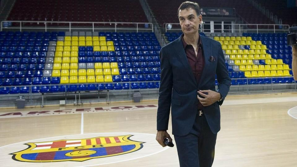 Bartzokas presented as new fc barcelona lassa head coach for Puerta 0 palau blaugrana