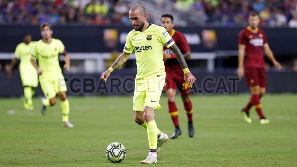 صور مباراة : برشلونة - روما 4-2 ( 01-08-2018 )  95179890