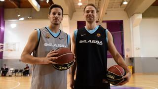 Thomas Heurtel i Petteri Koponen s'incorporen als entrenaments del Barça Lassa