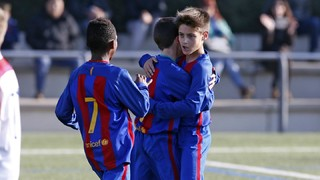 U-12 team goals at La Liga Promises