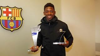 Ousmane Dembélé wins 2016/17 Bundesliga Rookie Award