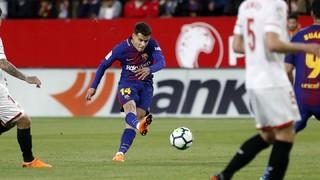 Sevilla - FC Barcelona (3 minutos)