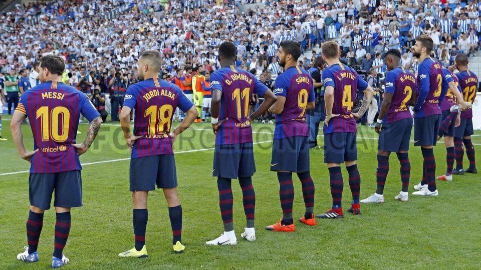 صور مباراة : ريال سوسيداد - برشلونة 1-2 ( 15-09-2018 ) 98623860