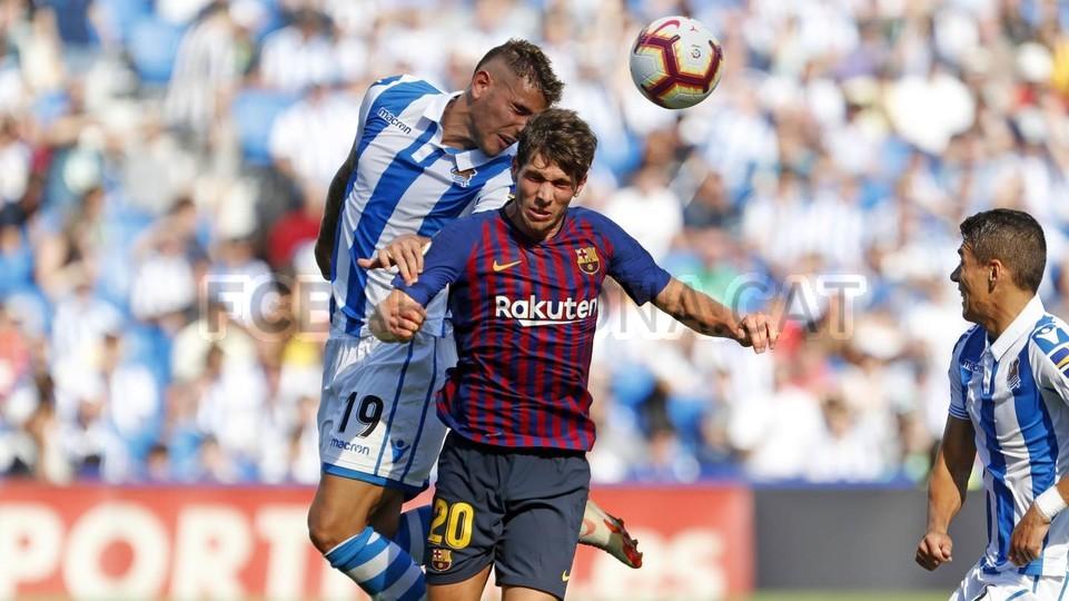 صور مباراة : ريال سوسيداد - برشلونة 1-2 ( 15-09-2018 ) 98507380