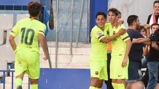 C.E Sabadell - Barça B: Primera victoria de la temporada (0-1)