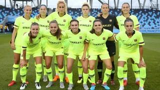 Manchester City - Barça Femenino: Las locales se llevan un duelo muy igualado (2-0)