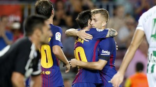 FC Barcelona 2 - Betis 0 (3 minuts)