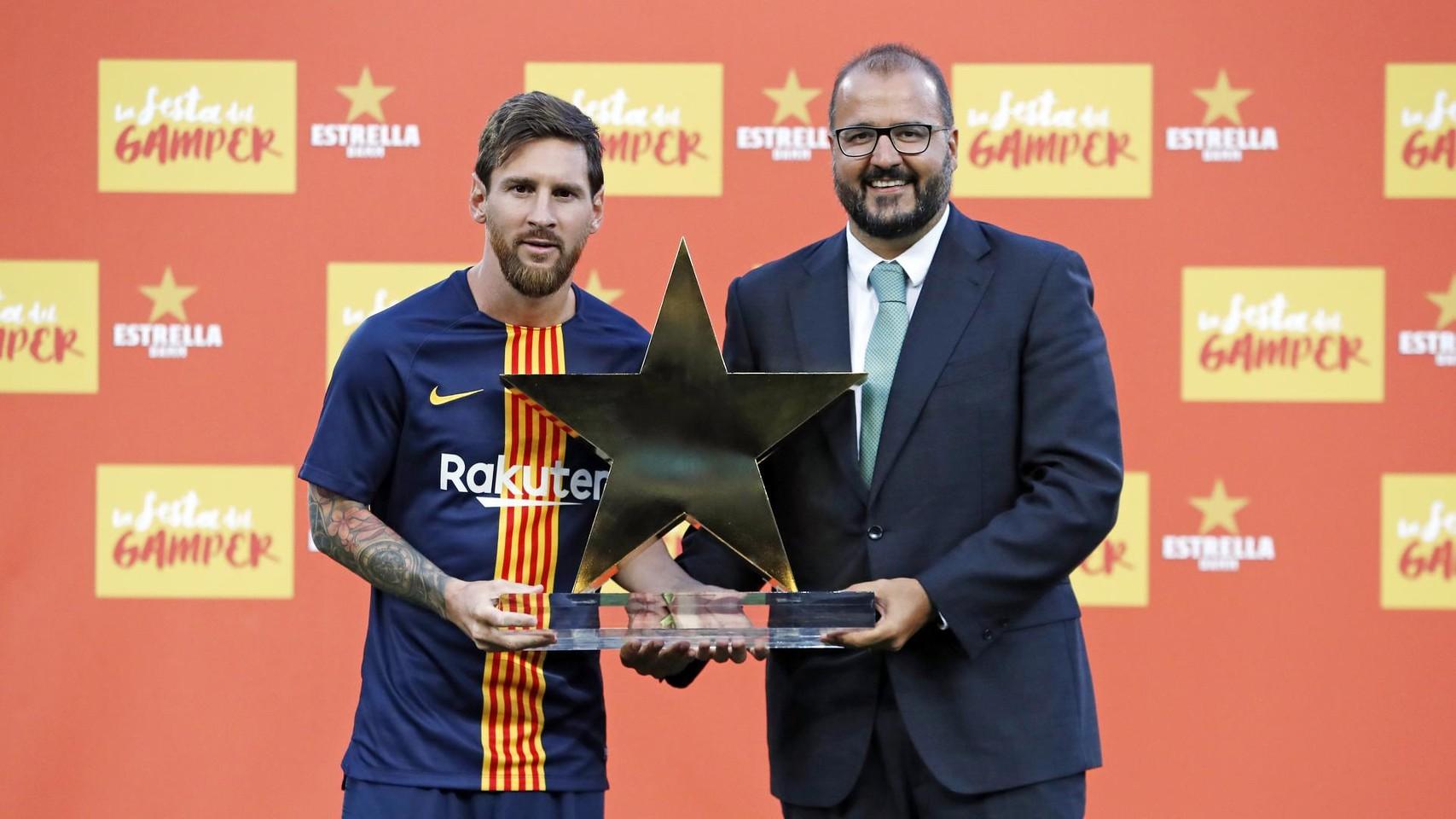 صور مباراة : برشلونة - بوكا جونيورز ( 16-08-2018 )  95975029