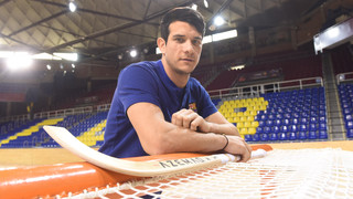 El recital goleador de Pablo Álvarez contra el Arenys