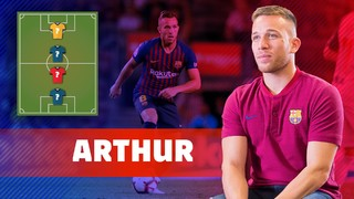 MY TOP4: Arthur picks his football heroes
