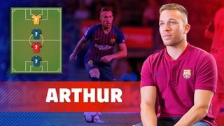 MY TOP4: Arthur escull els seus referents futbolístics