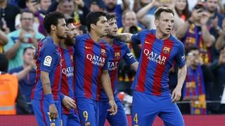 La gran jugada col·lectiva abans d'un espectacular penal de Messi