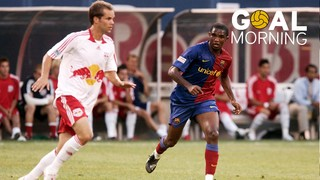 Goal Morning! Samuel Eto'o also scored in the U.S.A...