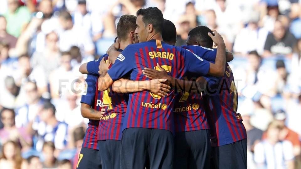 صور مباراة : ريال سوسيداد - برشلونة 1-2 ( 15-09-2018 ) 98523510