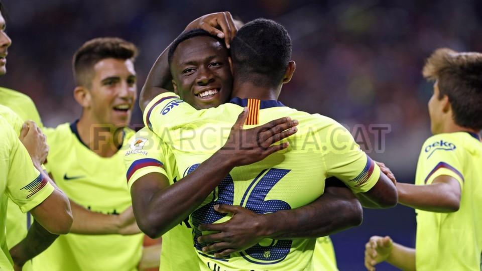 صور مباراة : برشلونة - روما 4-2 ( 01-08-2018 )  95181430