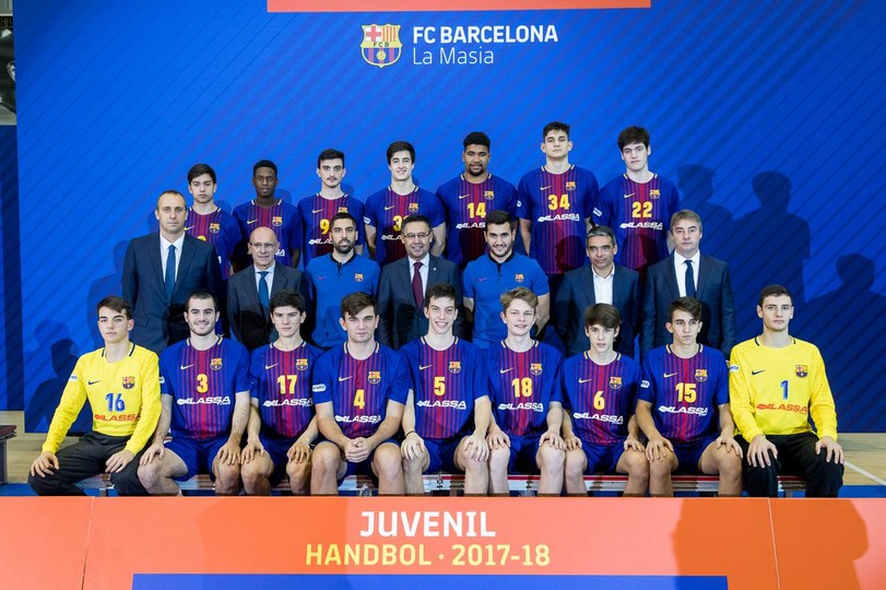 FC Barcelona – Balonmano Juvenil - 2017/2018 - FC Barcelona