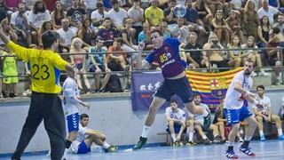 CH Sant Esteve Sesrovires - FC Barcelona Lassa: Muestra de recursos para golear (21-52)