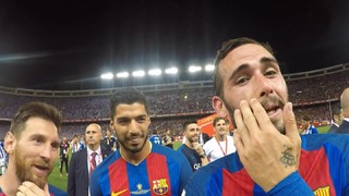 The celebrations from Aleix Vidal's camera