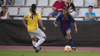 FC Barcelona Femení - CE Europa: Golejada i a la final! (5-0)