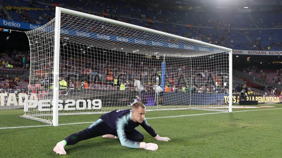 صور مباراة : برشلونة - جيرونا 2-2 ( 23-09-2018 )  99596556