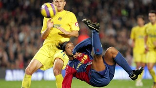 All of Ronaldinho's goals with Barça (2003-05)