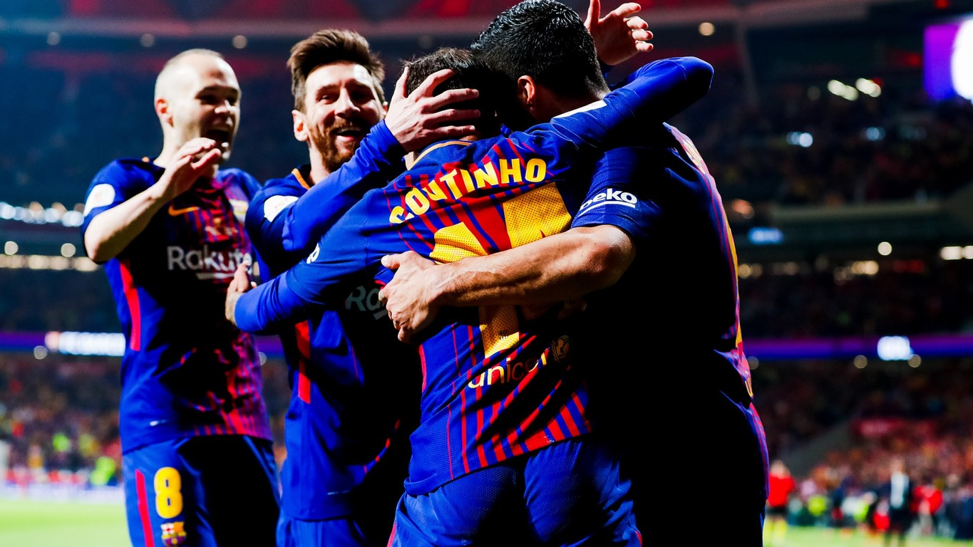 A dazzlingly display of footballing brilliance, with goals from Suarez (2), Messi, Iniesta and Coutinho, wins an amazing fourth Copa del Rey title in a row, and 30th in total