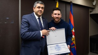 Leo Messi named as World Tourism Organisation Ambassador for Responsible Tourism