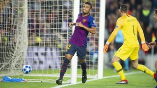 FC Barcelona 2 - Inter Milan 0 (3 minutos)
