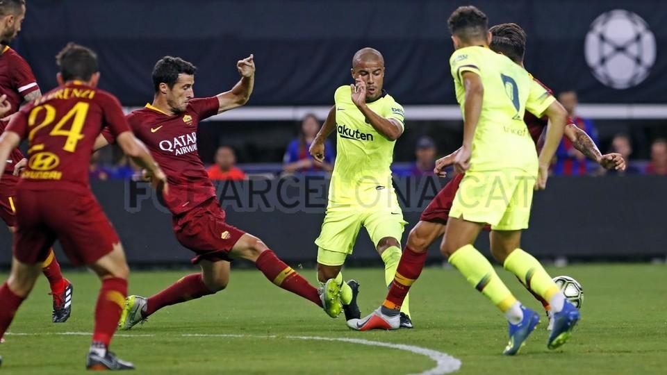صور مباراة : برشلونة - روما 4-2 ( 01-08-2018 )  95179896