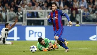Juventus 3 - FC Barcelona 0 (1 minuto)