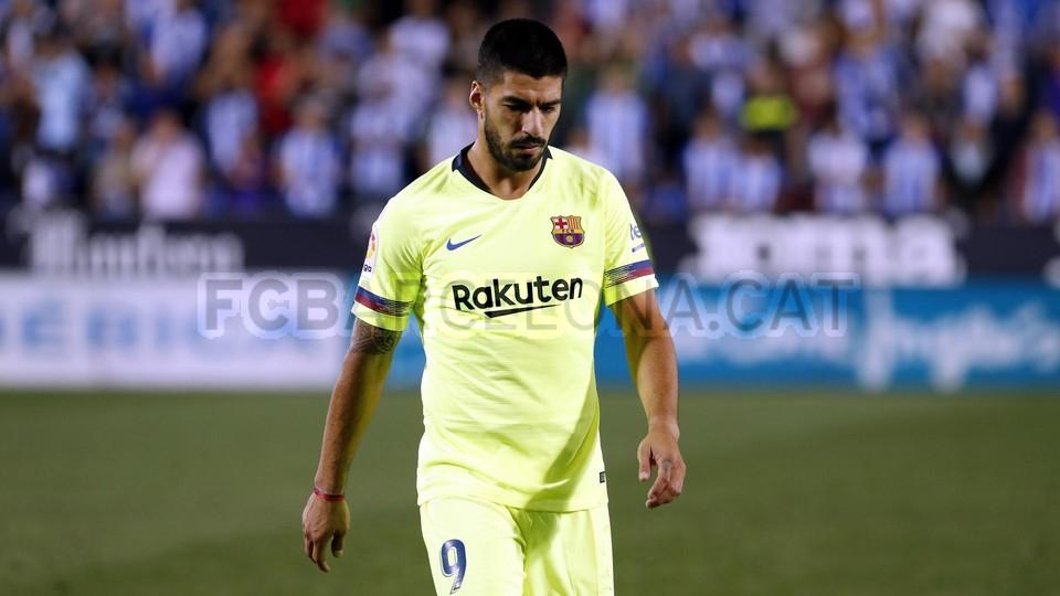 صور مباراة : ليغانيس - برشلونة 2-1 ( 26-09-2018 ) 99786105