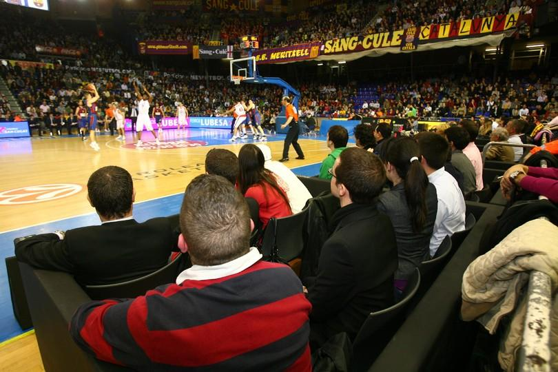 Palau blaugrana baloncesto fc barcelona for Puerta 0 palau blaugrana